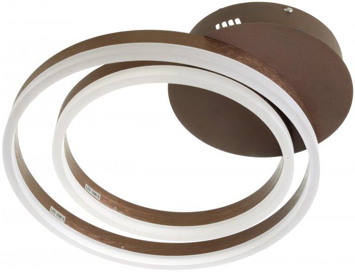 Світильник настінно-стельовий Brille BL-954С/71 Вт COF (24-283) - зображення 1