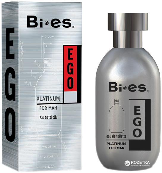 Туалетная вода для мужчин Bi-es Ego Platinum Hugo boss Hugo element 100 мл (5907699480524) - изображение 1