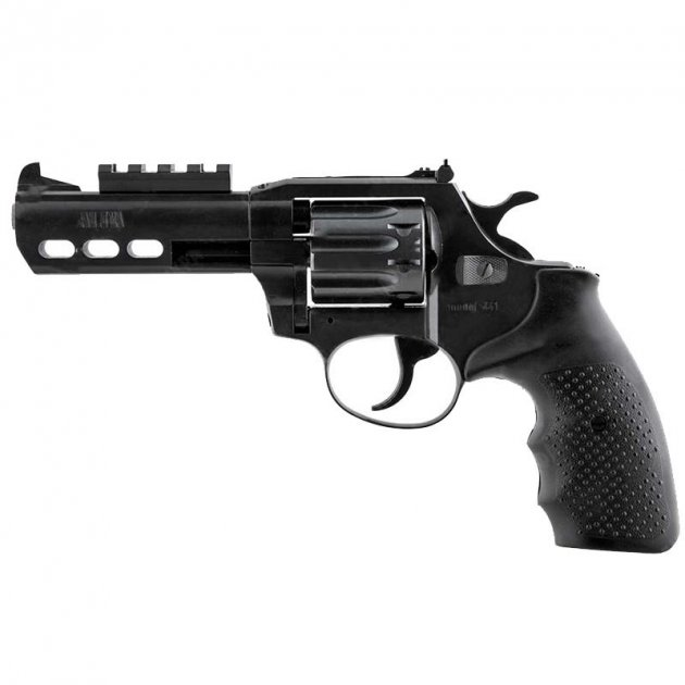 Револьвер під патрон Флобера Alfa mod.441 Tactical. 14310047 - зображення 1