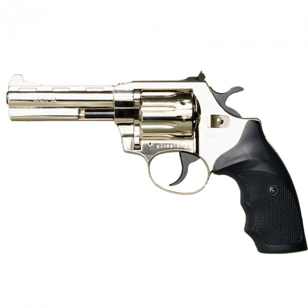 Револьвер під патрон Флобера Alfa mod. 431 нікель/пластик. 14310057 - зображення 1