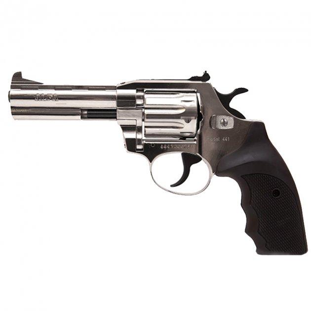 Револьвер під патрон Флобера Alfa mod.441 нікель/пластик. 14310048 - зображення 1