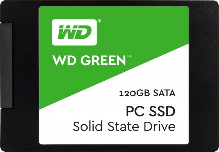 """Western Digital Green SSD 120GB 2.5"""" SATAIII TLC (WDS120G2G0A) - зображення 1"""