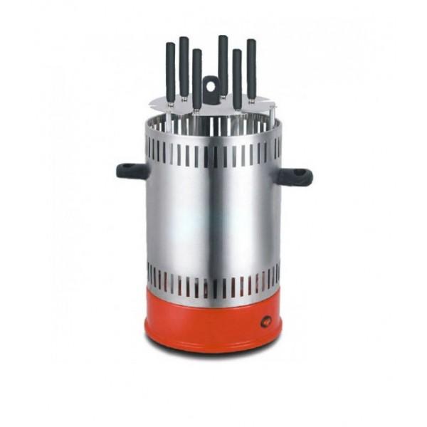 Электрошашлычница Livstar LSU-1320 1000W на 6 шампуров шашлычница для шашлыка дома Красный - изображение 1