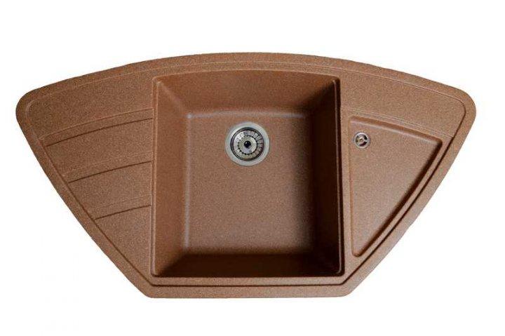 Кухонна мийка Galati Jorum 98B Teracota 701 (8472) - зображення 1