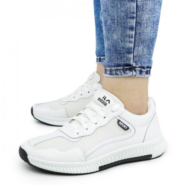 Жіночі кросівки Dual ILA Sport білі чоботи 38 р. - 25,5 см (1340064574) - зображення 1