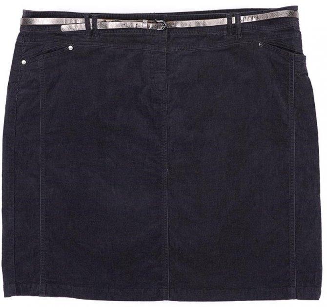 Спідниця джинсова C&A 1046900s32 50 Сіра (KC100000001327) - зображення 1