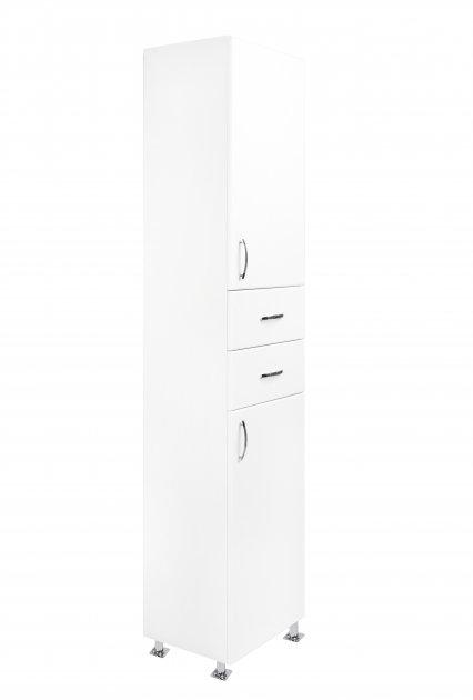 Пенал GRANITIKA Классик 40 см.напольный (Белый) GPKL-11 - изображение 1
