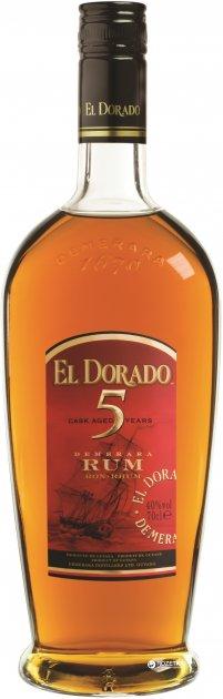 Ром El Dorado 5 YO 0.7 л 40% (8715151050782) - изображение 1
