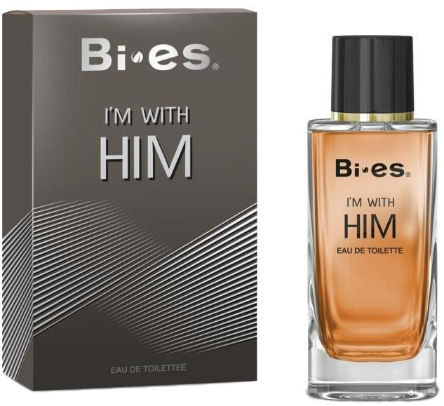 Туалетная вода для мужчин Bi-es Im With Him Men Armani - I'm Stronger with You 100 мл (5902734841872) - изображение 1