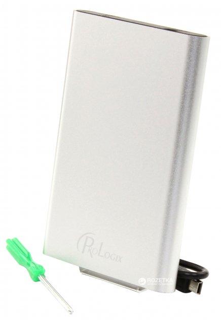 "Зовнішня кишеня ProLogix для HDD 2.5"" SATA USB 3.0 Silver (BS-U23F-SILVER) - зображення 1"
