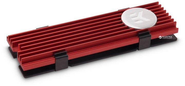 Радиатор EKWB EK-M.2 NVMe Heatsink Red (3830046991751) - изображение 1