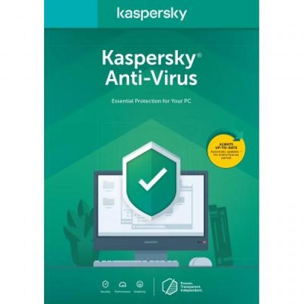 Антивирус Kaspersky Anti-Virus 2020 1 ПК 1 год Renewal Card (5056244903213) - изображение 1