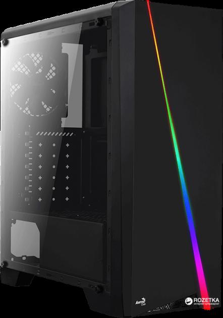 Корпус Aerocool Cylon RGB Black - зображення 1