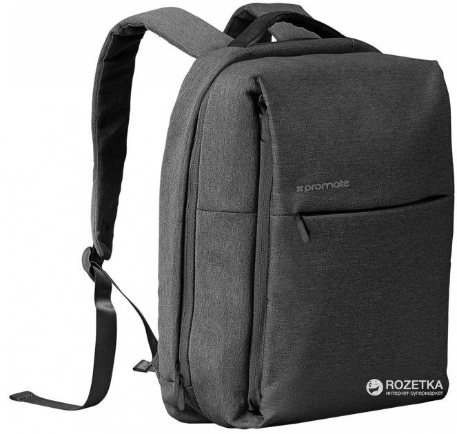 """Рюкзак для ноутбука Promate Citypack 15.6"""" Black (citypack-bp.black) - зображення 1"""