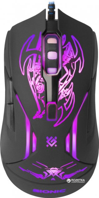 Мышь Defender Bionic GM-250L USB Black (52250) - изображение 1
