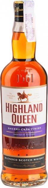 Віскі Highland Queen Sherry Cask Finish 0.7 л 40% (3328640121952) - зображення 1