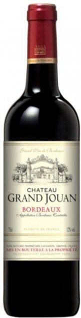 Вино Chateau Grand Jouan красное сухое 0.75 л 12% (3423290196357) - изображение 1
