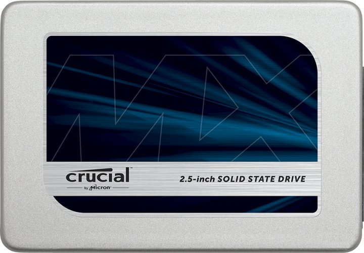 "Crucial MX500 250GB 2.5"" SATAIII 3D TLC (CT250MX500SSD1) - изображение 1"