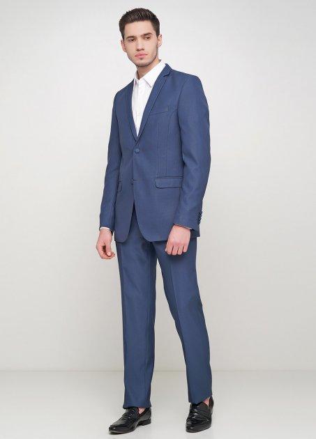 Чоловічий костюм Mia-Style MIA-178/03 50 синій - зображення 1
