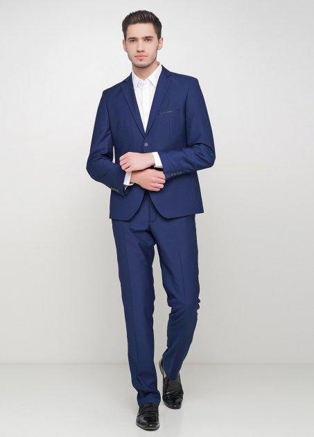 Чоловічий костюм Mia-Style MIA-292/05 50 синій - зображення 1
