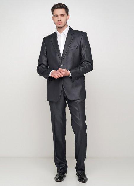 Мужской костюм Mia-Style MIA-119 48 черный - изображение 1