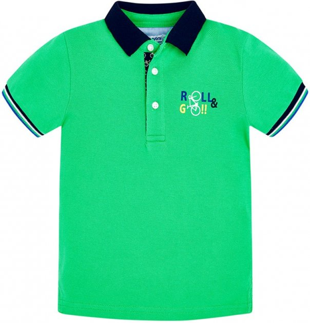 Поло Mayoral 3113-74 2Y Зелене (2903113074020) - зображення 1