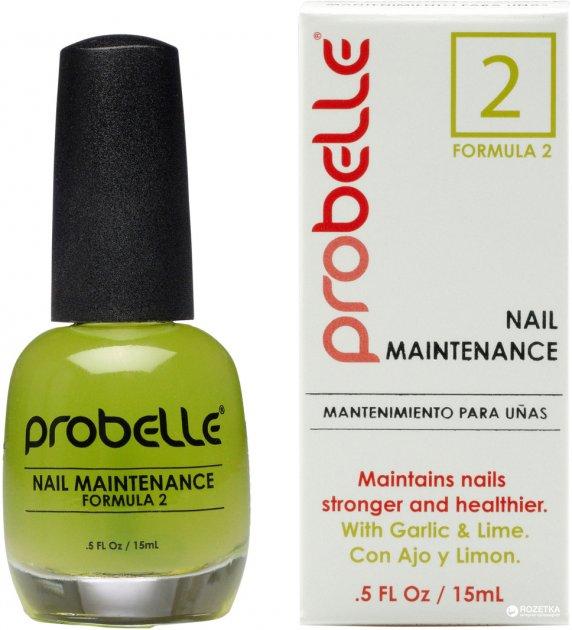 Восстанавливающий лак для ногтей Probelle Touch N'Grow Plus Nail Maintenance Formula 2 15 мл (857188005538) - изображение 1