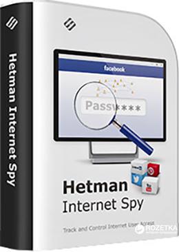 Hetman Internet Spy для анализа истории браузера Домашняя версия для 1 ПК на 1 год (UA-HIS1.0-HE) - изображение 1