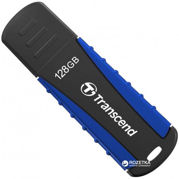 Transcend JetFlash 810 128GB USB 3.1 Black-Blue (TS128GJF810) - зображення 1