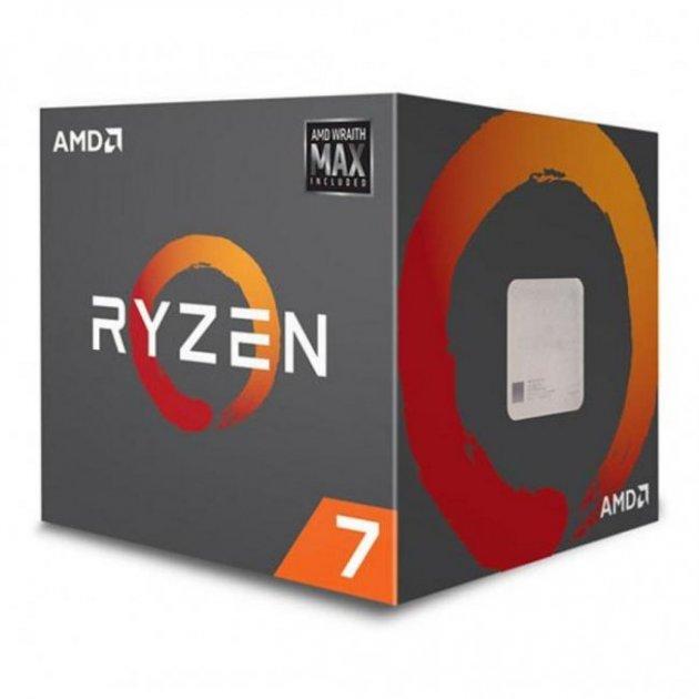 Процесор s-AM4 AMD Ryzen 7 2700 BOX (YD2700BBAFMAX) - зображення 1