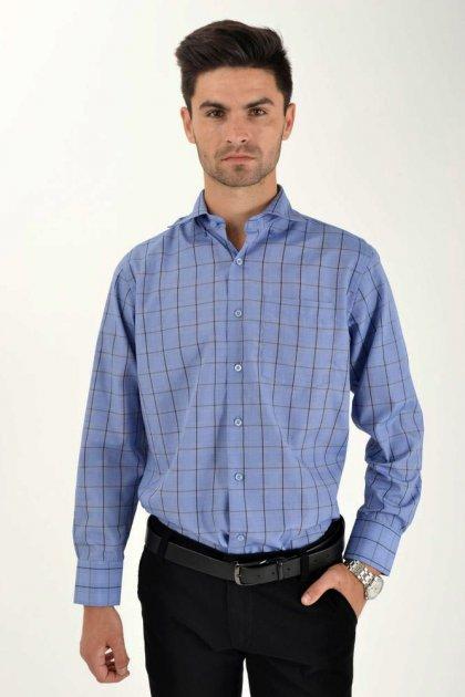 Мужская рубашка (9021-26) AGER 41 Синий 000042292 - изображение 1