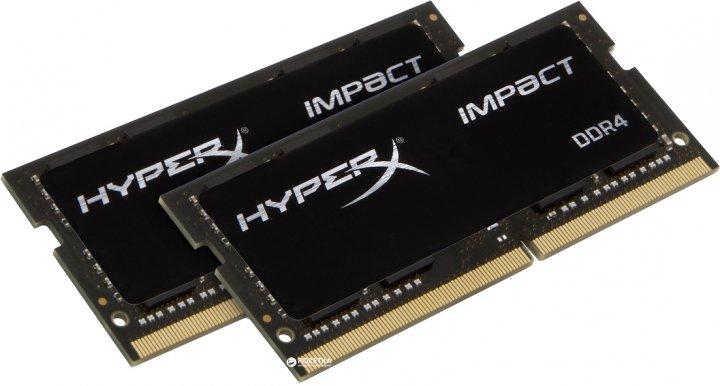 Оперативна пам'ять HyperX SODIMM DDR4-3200 32764 MB PC4-25600 (Kit of 2x16384) Impact (HX432S20IB2K2/32) - зображення 1