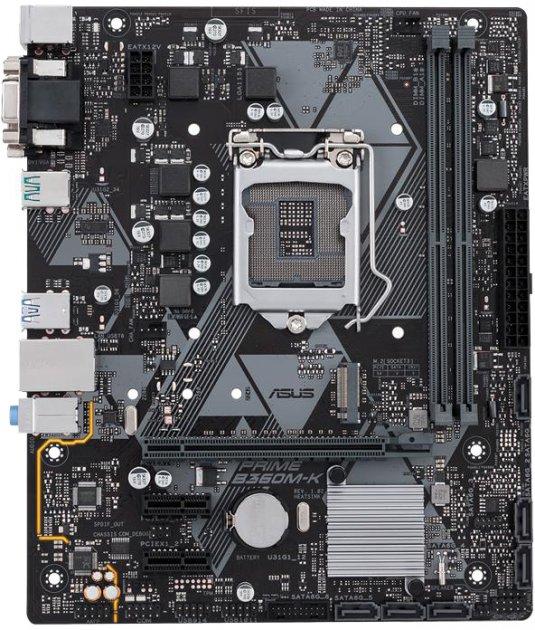 Материнська плата Asus Prime B360M-K (s1151, Intel B360, PCI-Ex16) - зображення 1