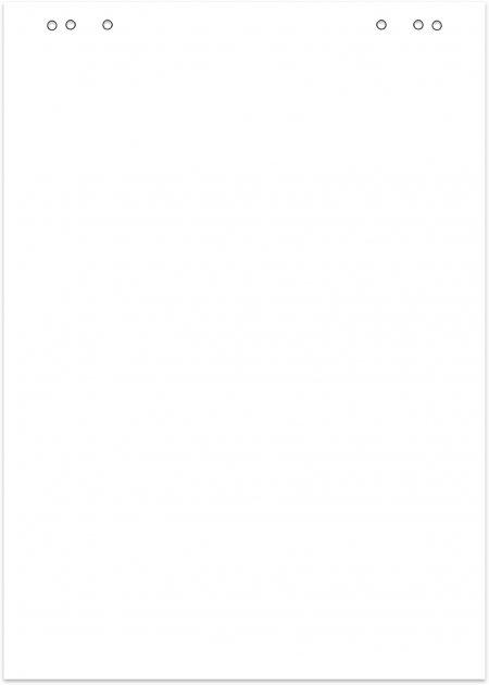 Бумага для флипчартов Buromax Jobmax 64х90 см 20 листов (BM.2296-00)
