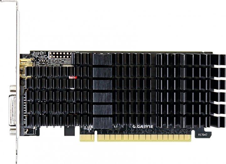 Gigabyte PCI-Ex GeForce GT 710 2048MB GDDR5 (64bit) (954/5010) (DVI, HDMI) (GV-N710D5SL-2GL) - изображение 1