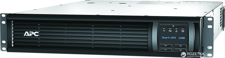 APC Smart-UPS 2200VA LCD 2U (SMT2200RMI2U) - зображення 1
