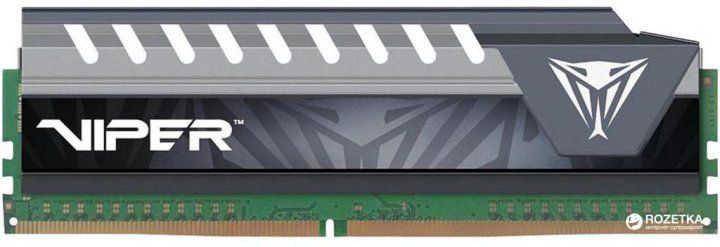 Оперативна пам'ять Patriot DDR4-2666 16384MB PC4-21300 Viper Elite Series Gray (PVE416G266C6GY) - зображення 1