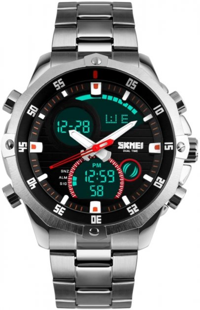 Мужские часы Skmei 1146 Silver BOX (1146BOXSR) - изображение 1