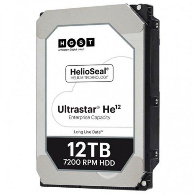 """Жесткий диск 3.5"""" SATA 12TB Hitachi HGST Ultrastar He12 (0F30146 / HUH721212ALE604) - изображение 1"""