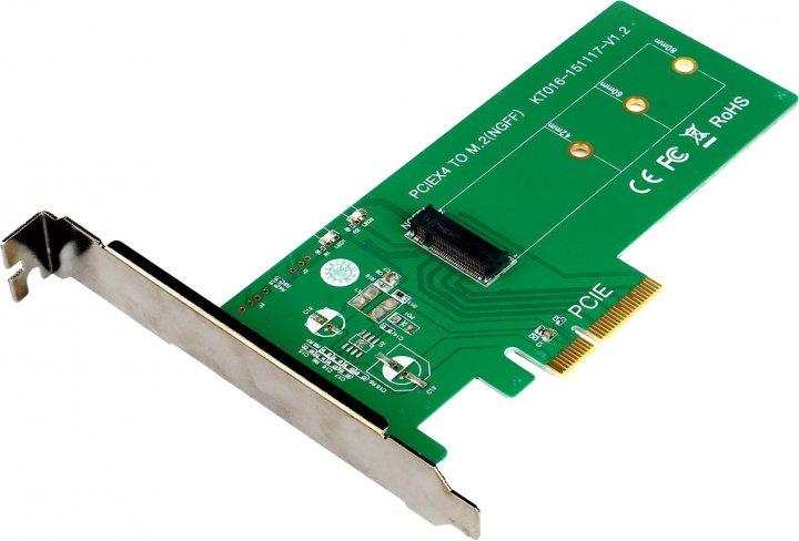 Адаптер Maiwo M.2 PCIe SSD to PCI-E 3.0 4x (KT016) - изображение 1