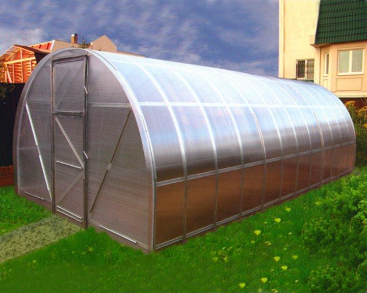 Теплица Оскар Господарка 18м² (300х600х200см) + 4мм Сотовый Поликарбонат - изображение 1