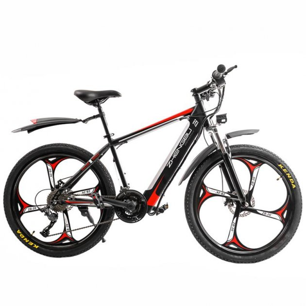 Электровелосипед Zhengbu M8 Black from red - изображение 1
