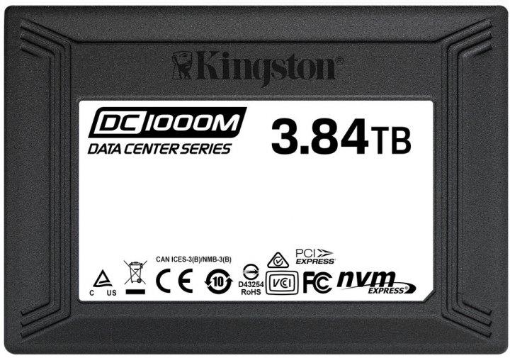 "Kingston DC1000M 3840GB 2.5"" PCIe 3.0 x4 3D NAND TLC (SEDC1000M/3840G) - зображення 1"