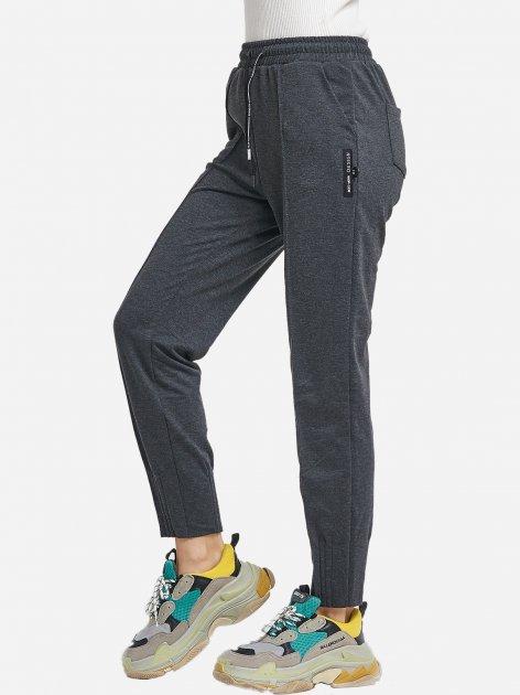 Спортивні штани ISSA PLUS 9979 S Темно-сірі (2000257925222) - зображення 1