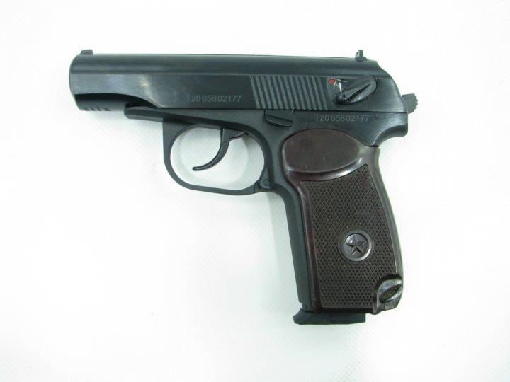 Пневматичний пістолет байкал мр658к(мр654к) бак. рук. blowback - зображення 1