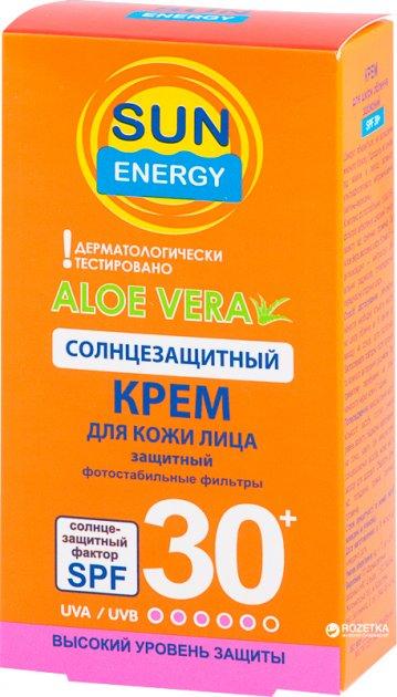 Крем для обличчя Sun Energy SPF 30 30 мл (4823015922510) - зображення 1