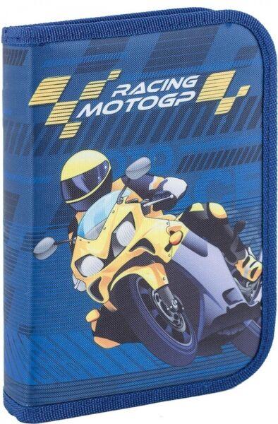 Пенал 1 Вересня Moto синий 1 отделение (531337) - изображение 1