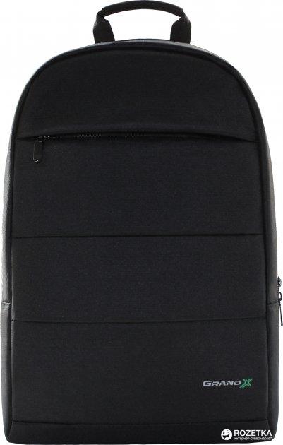 Рюкзак для ноутбука Grand-X 15.6'' Black (RS-365) - изображение 1