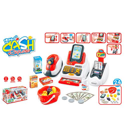 Игровой набор кассовый аппарат 668-48 - изображение 1