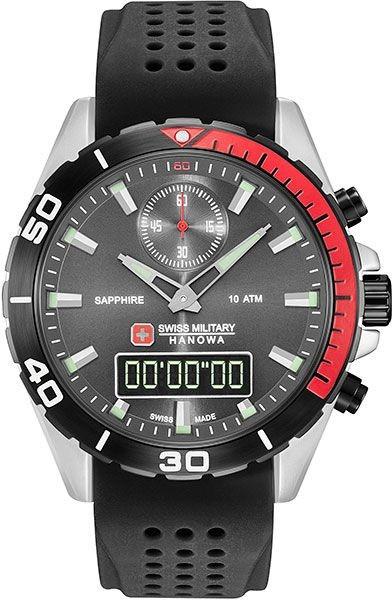 Чоловічі годинники SWISS MILITARY-HANOWA 06-4298.3.04.009 - зображення 1